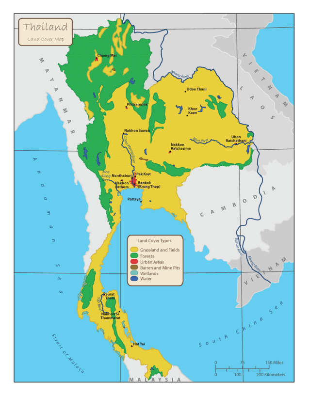 Colter Sikora Thailand Land Cover