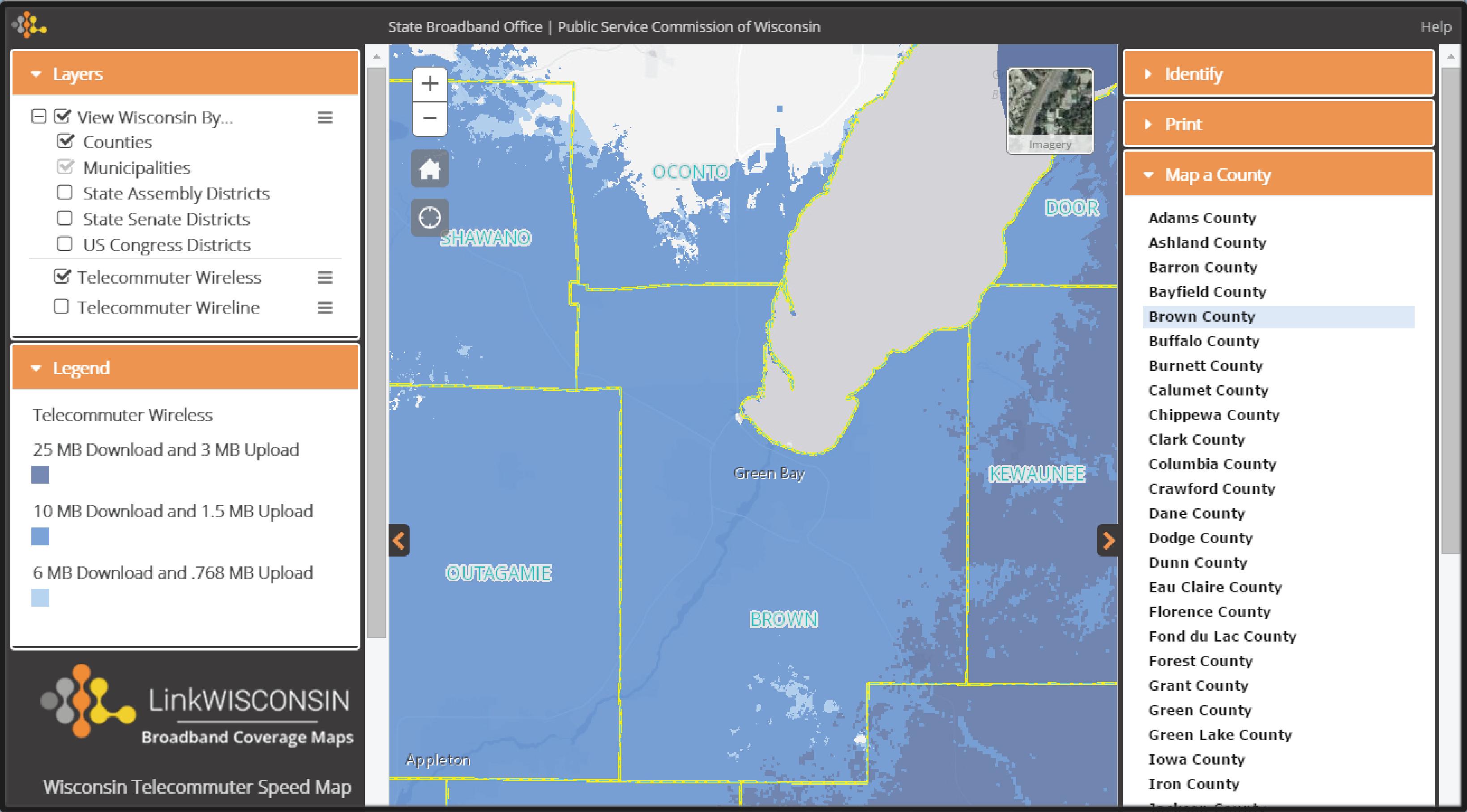 wisconsin telecommuter speed map colterrific maps a portfolio telecommuter speed map portfolio footer